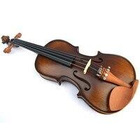 archaize violin 1/8 1/4 1/2 3/4 4/4 violin handcraft violino Musical Instruments with violin rosin case shoulder rest / bow