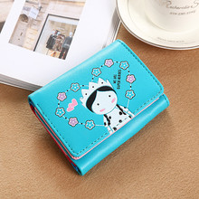 Women Wallets Small Fashion Brand Leather Purse Ladies Card