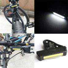 Yimistar #3022 100LM LED USB Rechargeable Head Light Flash Bicycle Bike Tail Safety Lamp DP Wholesale K90