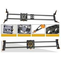 Уэстедж 100 см/39in профессиональный ручной управления трек портативный лучшие из углеродного волокна камеры Slider Видео Долли DSLR 5D 6D Rail DIY