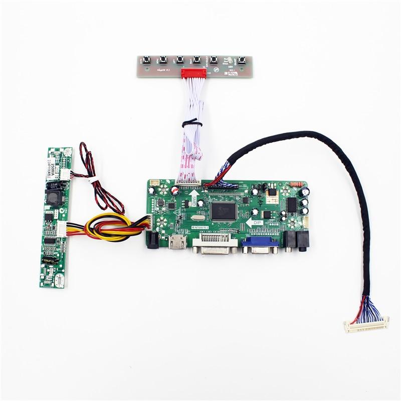 DVI+VGA LCD Monitor controller kit for LM215WF3-SDD1 1920*1080 imac 21.5 panel