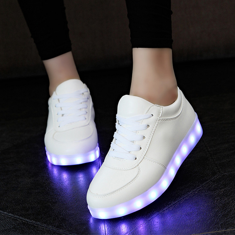 Charging Tenis Led Feminino Basket Led Enfant Light Up Trainers Kid Casual Boy&Girl Luminous Led  Glowing Sneakers Child shoes