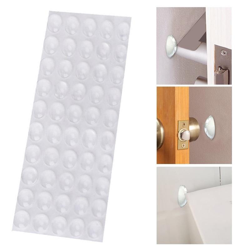 SOLEDI Transparent Rubber Bumper Damper Silicone Feet Pads Hemispherical Shape Durable Stop Cushion Anti Slip Door