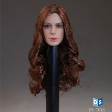 DSTOYS D – 007.1/6 Scale the Original Female Head Carving 12″  Action Figure Doll Toys Accessories