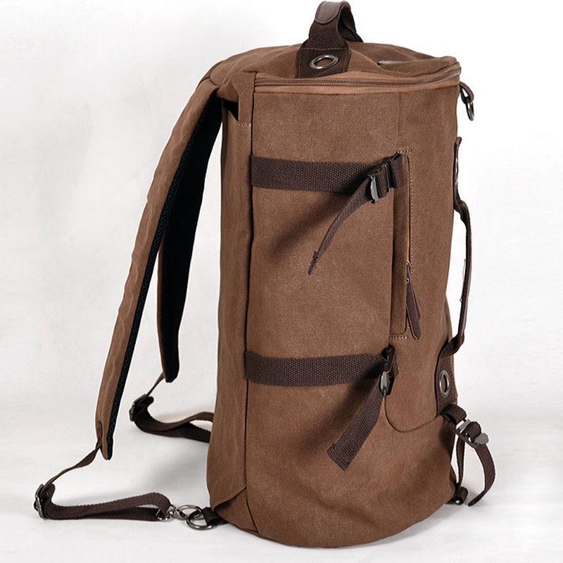 Mochila táctica militar hombre deportes multifuncional mochilas de lona de gran capacidad cubo deporte ejército bolsa gimnasio viaje mochila - 4
