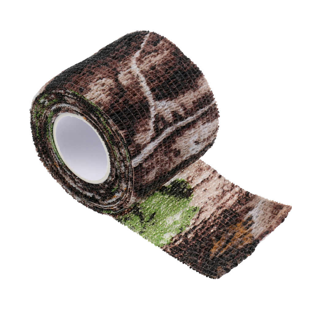 Image 4 - Elastic Camouflage Fabric Tape Camo Stealth Tape 220x5CM Concealment Aid for Binoculars Torches Hiking Camp Hunting-in Hunting Gun Accessories from Sports & Entertainment