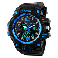 Big Dial SKMEI 1155 Digital Watches Military Army Men Watch Water Resistant Date Calendar LED Backlight