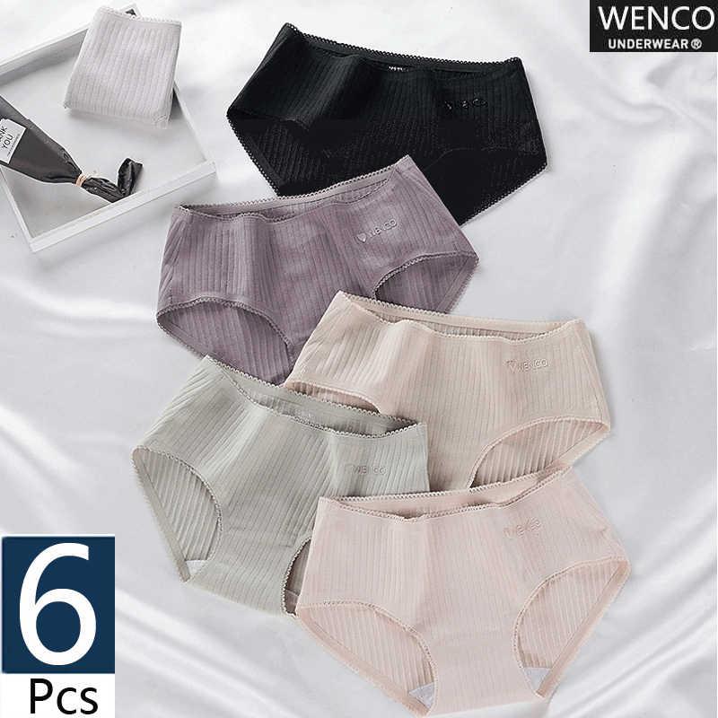 2019New produto rendas das Mulheres calcinha 100% Algodão calcinhas sensuais das mulheres sem costura calcinha erótica roupa interior feminina cuecas de bestsellers
