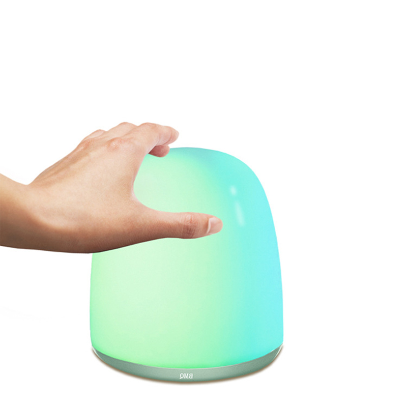 RGB Night Light LED for Kids Babies Bedside Lamp Breakage Resistant Eye Caring LED Dimmer Sensor Touch Control changing color