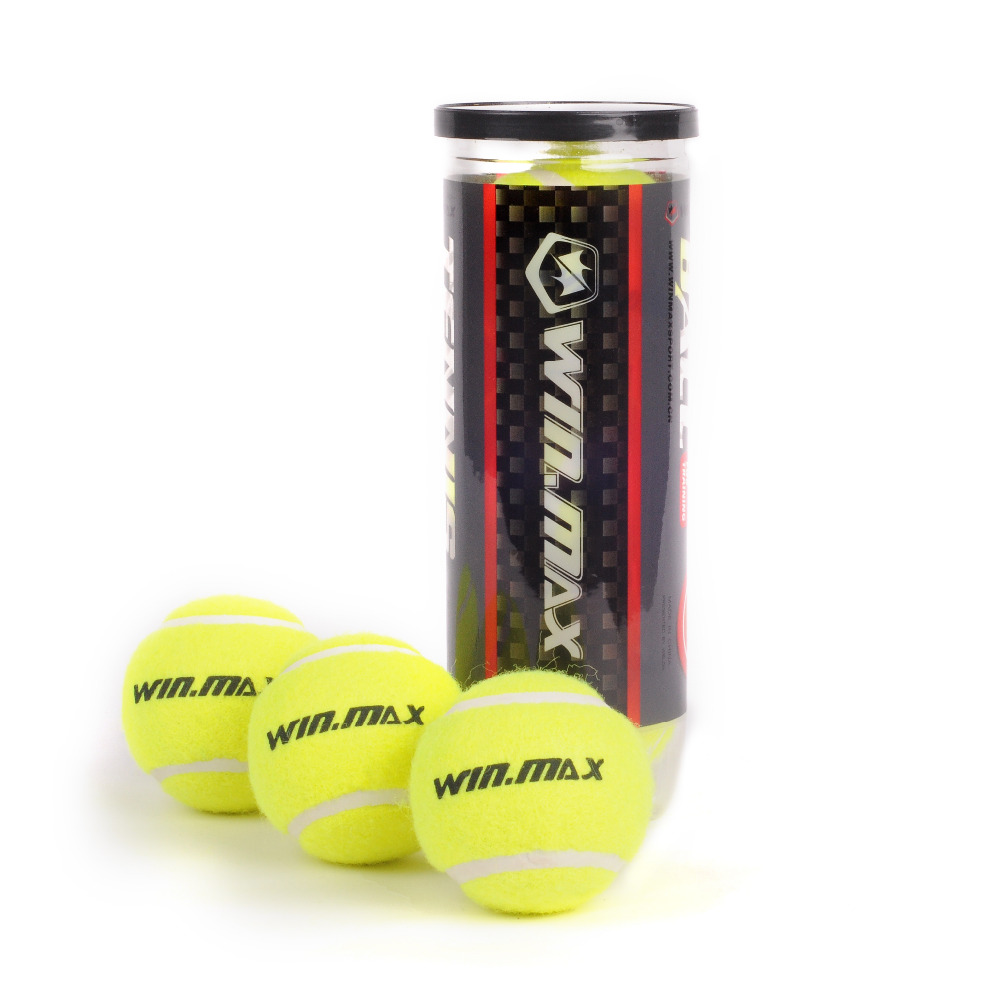 WINMAX 3 Pcs /tube  Approved Master Professinal A Grade Tennis Ball