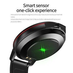 Image 4 - Lige esportes pulseira inteligente ip67 à prova dip67 água relógio de fitness tela cheia toque pode controlar a reprodução música para android ios + caixa