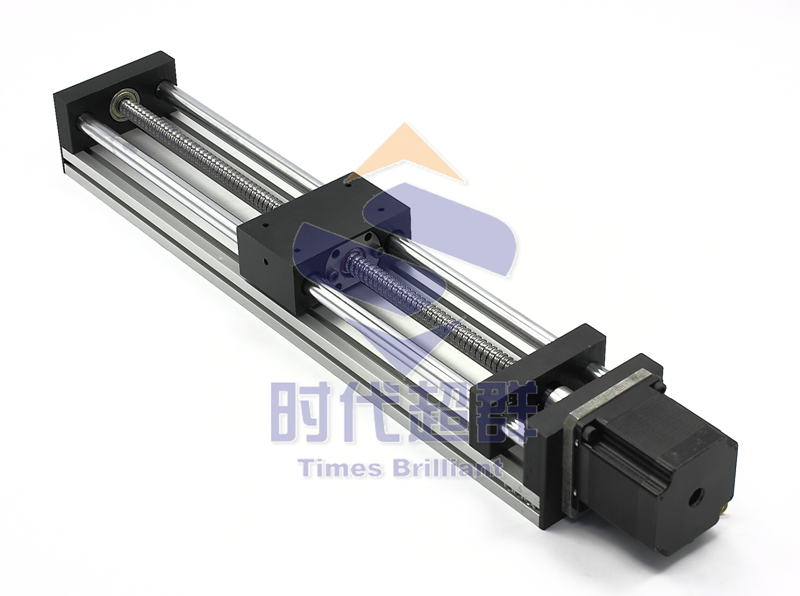 Linear axis linear guide containing slider stepper for Motorized linear motion slides