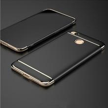 Роскошные case для xiaomi redmi 4x защитная крышка жесткий пк мешок мобильного телефона 3 в 1 case для xiaomi redmi 4X