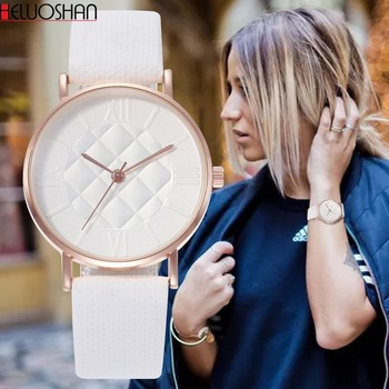orologio donna bianco 2020 Top Luxury Women Bracelet Watches Fashion Dress Ladies Watch Band Leather Analog Quartz Wrist Watch