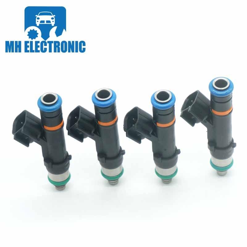 Set Of 8 Fuel Injectors 0280158003 For Ford 2004 F-150 5.4L V8 0280158003