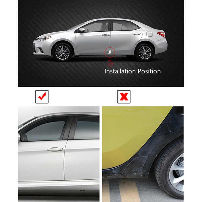 2 Pcs Silikon Mobil Pintu Sudut Cover Bumper Kecelakaan Goresan Pelindung Anti Gores Perlindungan Kecelakaan Perawatan Mobil