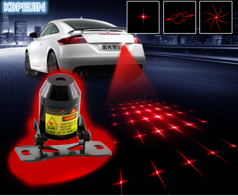 New Pattern Anti Collision Rear-end Car Laser <font><b>Tail</b></font> Fog <font><b>Light</b></font> Sticker for <font><b>Lexus</b></font> rx350 rx gs is250 <font><b>gs300</b></font> rx300 nx accessories image