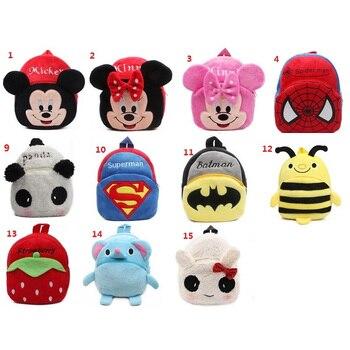 Pluszowy dziecięcy plecak Myszka Minnie Spider Hello Kitty Batman