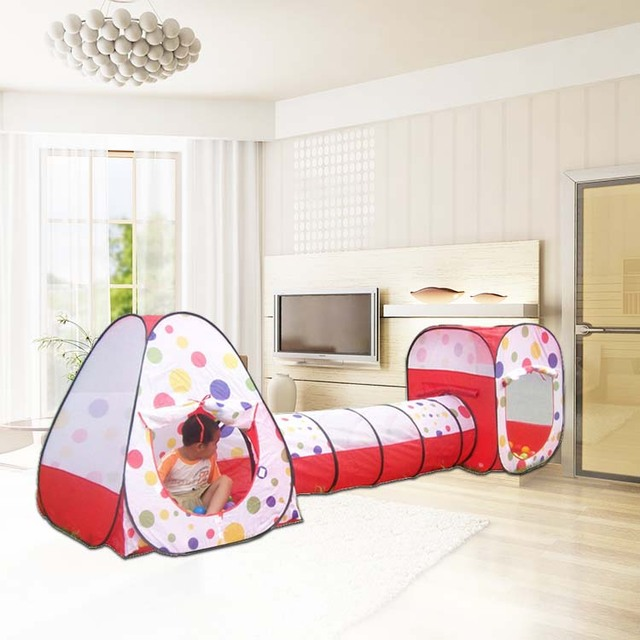 Parent child interaction kids tent, 3 In 1 Combo Play Tent Play ...