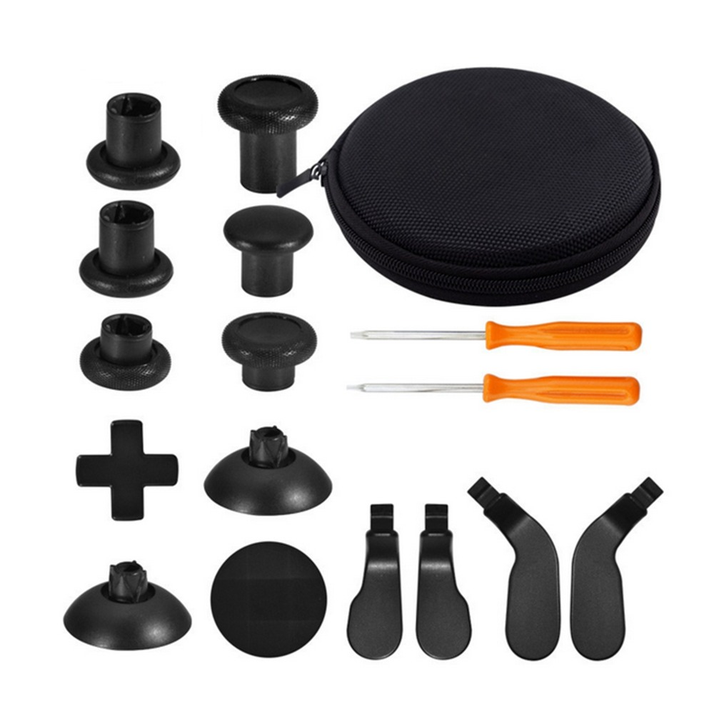16pc Repair Parts full Set Thumbsticks for Xbox One Elite Wireless Controller Gamepad Joystick Dpad crisscross screwdrive w/tool16pc Repair Parts full Set Thumbsticks for Xbox One Elite Wireless Controller Gamepad Joystick Dpad crisscross screwdrive w/tool