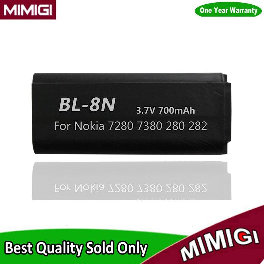 JESSQUE BL-8N BL8N 8N 700 mAh Batterie Für Nokia 7280 7380 282 280 Bateri Batterie Batterij Batterija AKKU AKU