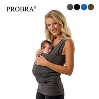 Safety Kangaroo Pocket Tshirt Baby Carrier Pregnancy Clothes Summer Short sleeve Father T-shirt for Big Pocket Tops Nylon Cotton