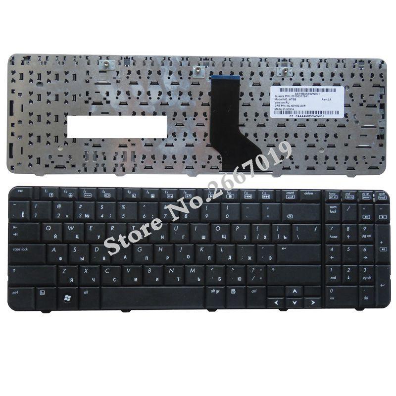 RUSSE NOUVEAU Clavier POUR HP pour Compaq CQ60 CQ60-100 CQ60-200 CQ60-300 G60 G60-100 RU clavier d'ordinateur portable