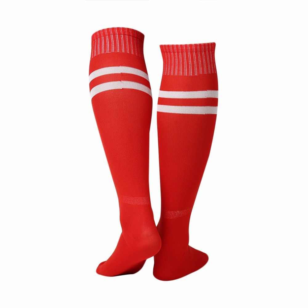 1 пара спортивные носки леггинсы до колена чулки Футбол Бейсбол Футбол более  Лодыжка колено Для мужчин 5d3bcc054f3