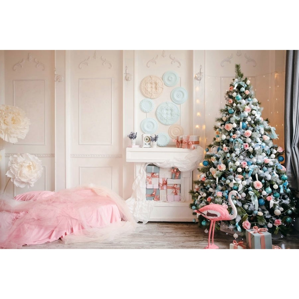 Yeele Photography Backdrops White Room Interior Fireplace Christmas Baby Portrait Photographic Backgrounds For the Photo Studio in Background from Consumer Electronics