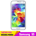 "Original Unlocked Samsung S5 i9600 LTE WCDMA 2GB RAM 16GB ROM G900F 16MP Camera Quad Core 5.1"" Inch Cell Phone in stock"
