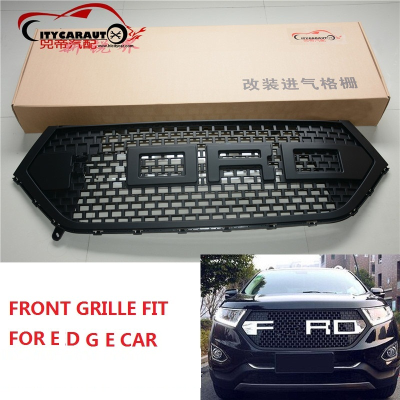 Citycarauto Front Racing Grill Grille Fit For Edge Car Matt Black Grill   With Free Shipment In Racing Grills From Automobiles Motorcycles On