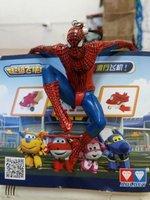 9CM For Spider Man Toy Climbing Spiderman Window Sucker For Spider Man Doll Car Home Interior