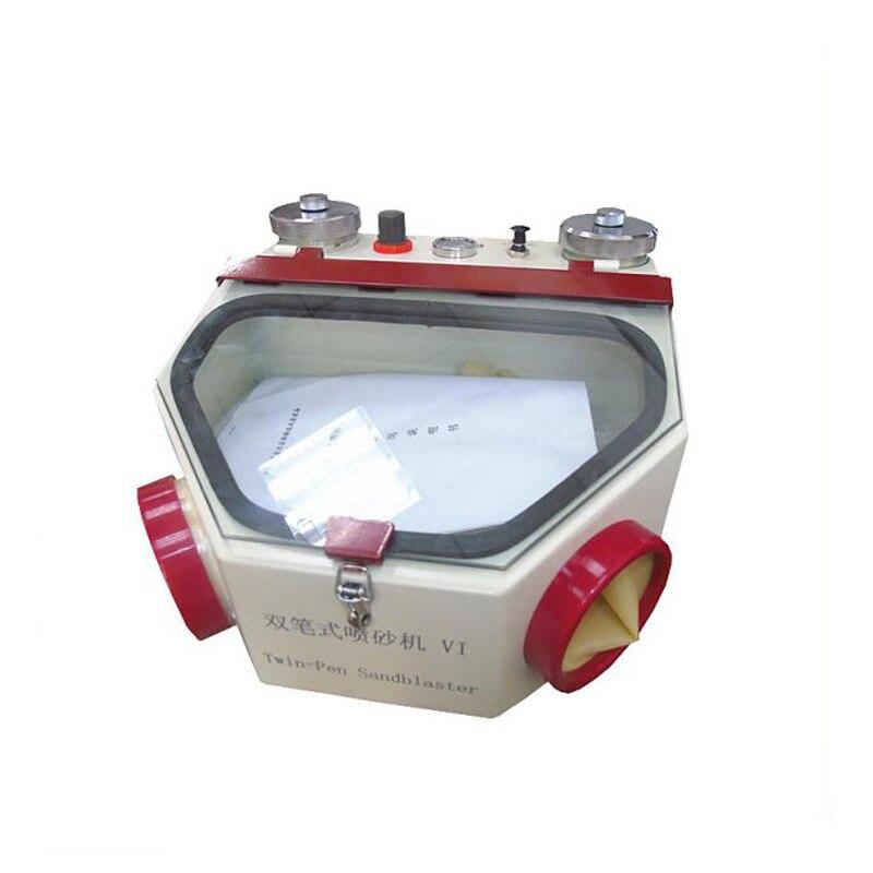 Laboratório Dental máquina Gêmeo caneta Sandblaster Dental unidade de equipamentos com preço mais barato