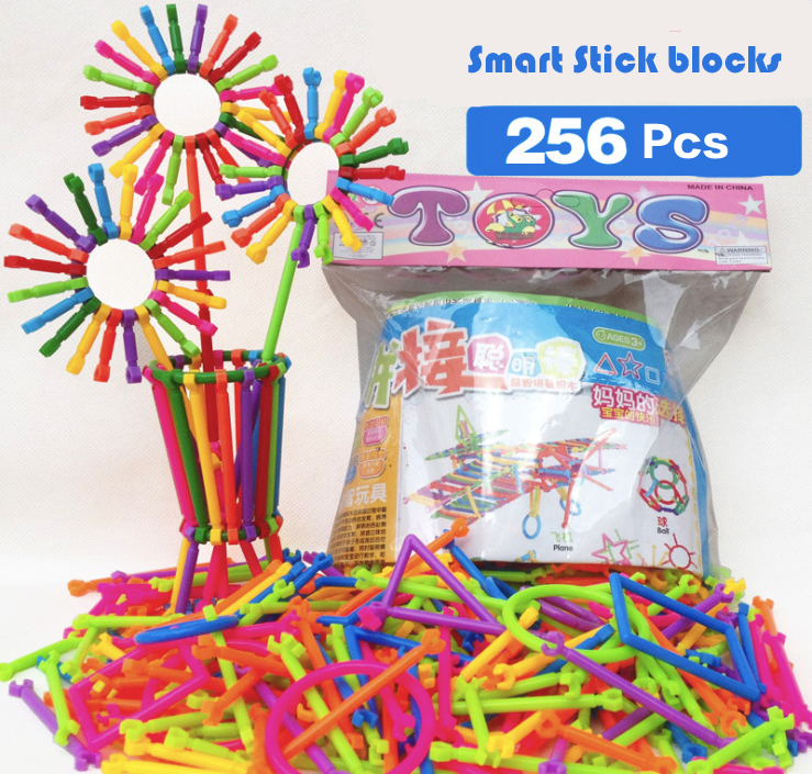 Childrens Day Gift Smart Stick Building Blocks Toys Early Childhood Educational Joining Together DIY