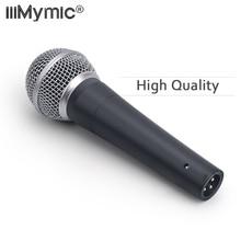 Высокое качество версия 58LC чистый звук проводной вокальный Караоке ручной динамический 58LC микрофон микрофонный микрофон