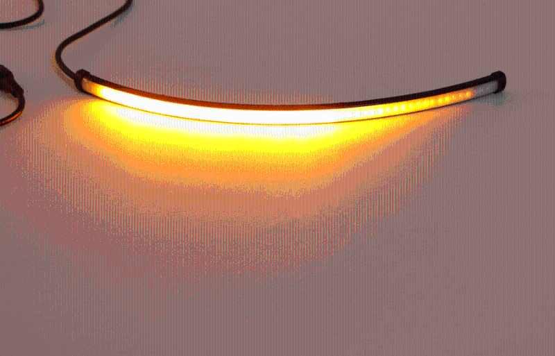 """1x12 """"5 Режим Переключающийся поток рыцаря сигнал поворота Стоп-сигнал DRL светодиодные полосы"""