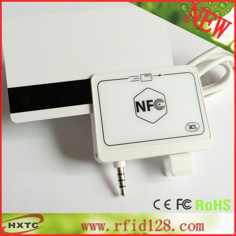 ФОТО Free Shipping Mini Portable 35mm Audio Jack  ACR35 MobileMate Smart NFC RFID Card Reader Writer 13.56mhz For Mobile Bank&Payment