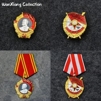 Najwyższa jakość CCCP Orden Lenina zsrr Order Lenina Medal wojskowy rosja dekoracja wojskowa CCCP osoba złote odznaki tanie i dobre opinie RUSSIA Europa Patriotyzmu Metal