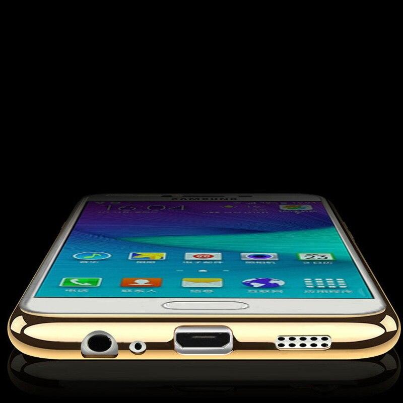 Claro chapado tpu soft case para samsung s8 plus teléfono coque case para samsun
