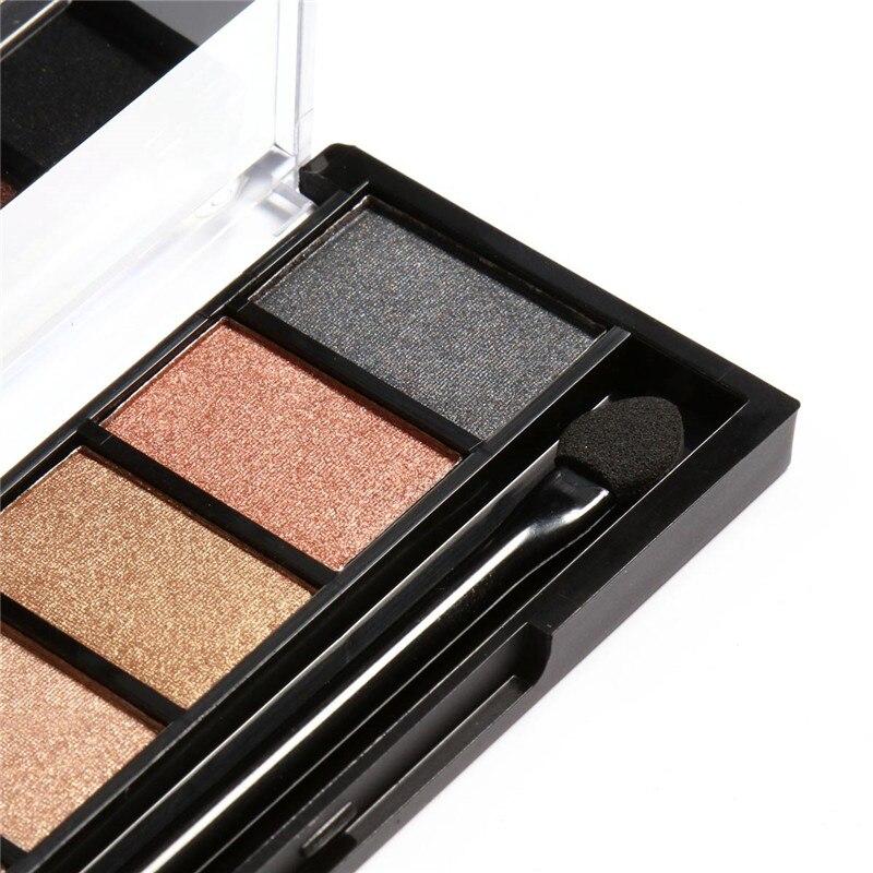 FOCALLURE 6 Colors Eye Shadow Makeup Shimmer Matte Eyeshadow Earth ...