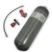Comparar AC109101 Pcp cilindro Airsoft 300Bar tanque de Paintball 9L Pcp tanque de aire con válvula para