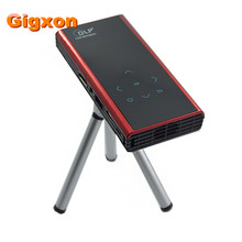 Gigxon – G06S Mini DLP Andriod Projector E06S HD 1080p 2000:1 Beamer HDMI AV SD USB Tripod for Tablet Laptop Home Theater