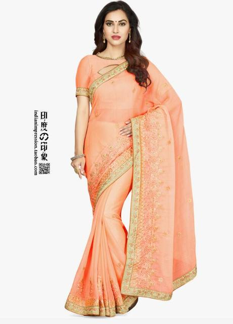 New Arrival Sari Indian Clothing Handmade Embroidery Sari Dress