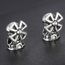HOMOD Fashion New Year Windmill Pendants Charms fit Brand Bracelets Necklace Engagement Accessories