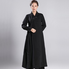 Tai chi одежда Униформа для женщин халат Китайский дзен медитация TA565