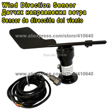 Aluminium Alloy Material 4-20mA Wind Direction Sensor/ Voltage Type Wind Direction Sensor/ Anemometer RS485