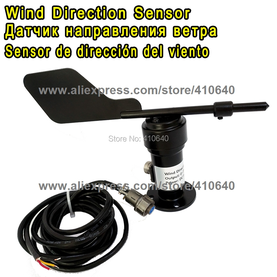 Aluminium Alloy Material 4-20mA Wind Direction Sensor/ Voltage Type Wind Direction Sensor/ Anemometer RS485 voltage signal wind direction sensor signal 0 5v wind transmitter anemometer meteorological monitoring