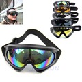 New Motorcycle Ski Snowboard Dustproof Eye Glasses Sunglasses Lens Frame Goggles 5Colors
