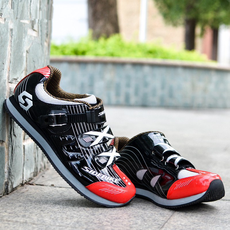 2017 NEW SIDEBIKE Cycling  Shoes Mountain Black  Red White Women Men Bike Shoes MTB Cycling Shoes Road Hook Loop Ciclismo MTB 2017 newest red white black colors mountain