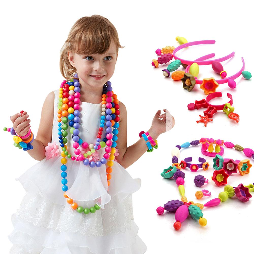 Giocattoli di puzzle dei gioielli dello zucchero candito dei giocattoli delle perle di Pop di 350Pcs-4141